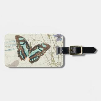 Papillon Tales Bag Tag