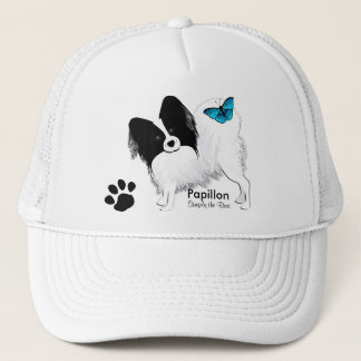 Papillon Trucker Hat