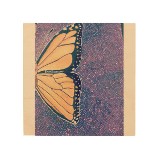 Papillon Wood Wall Decor