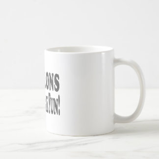 Papillons Have More Fun Coffee Mugs