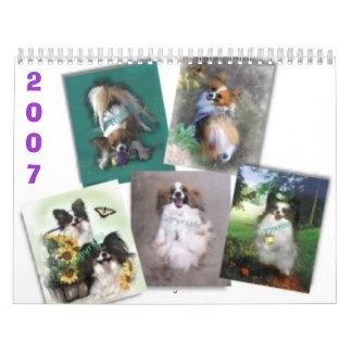 Papillons hermoso, 2007 calendario