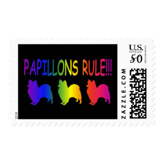 Papillons Rule Postage