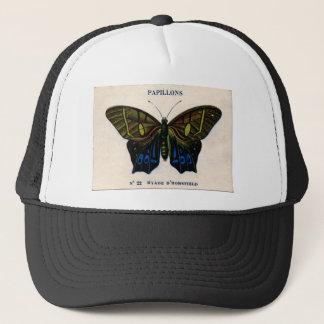Papillons Vintage Butterfly design Trucker Hat