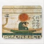 Papiro funerario egipcio tapetes de ratones
