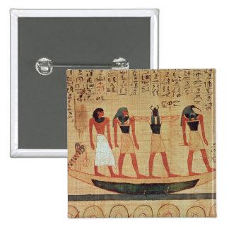 Papiro que representa a un hombre pin