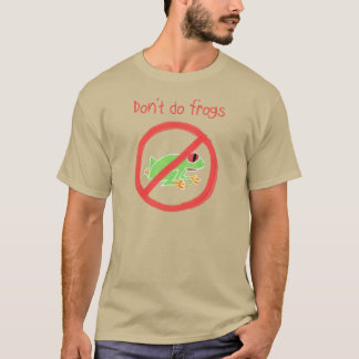 Papo & Yo T-Shirt - Don't Do Frogs