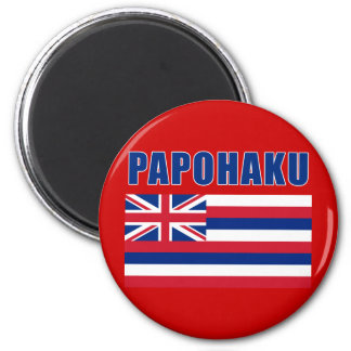 PAPOHAKU Hawaii Beach Tshirts, Gifts 2 Inch Round Magnet