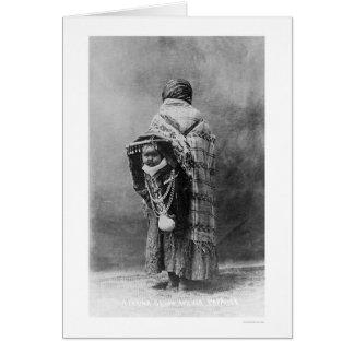 Papoose & Yakama Squaw 1910 Card