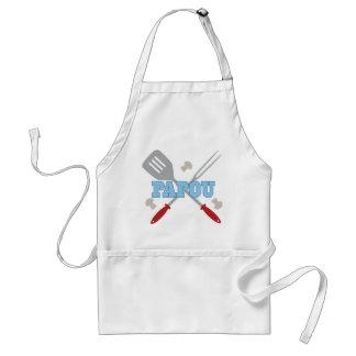 Papou BBQ Grilling Apron Gift