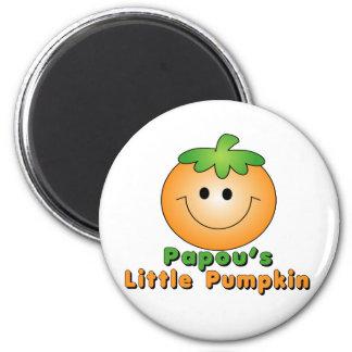 Papou Little Pumpkin Magnet