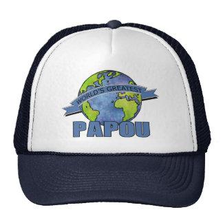 Papou más grande del mundo gorras de camionero