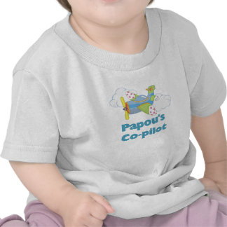 Papou's Co-pilot T Shirt