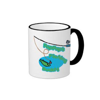 PapPap's Fishing Buddy Ringer Mug