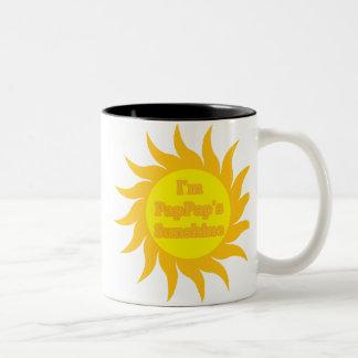 PapPap's Sunshine Two-Tone Coffee Mug