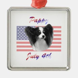 Pappy 4 de julio ornamente de reyes