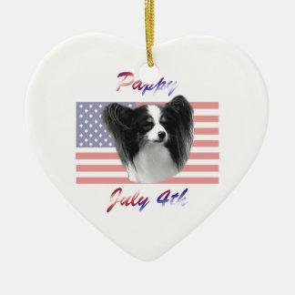 Pappy 4 de julio ornamento para arbol de navidad