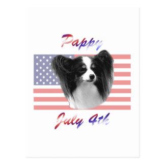 Pappy 4 de julio postal