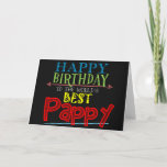 """Pappy Birthday Card<br><div class=""""desc"""">Your grandpa has a special name and you want him to feel special on his birthday. This Pappy birthday card lets your grandfather know he is the world's best! Use the suggested text or customize the message for a truly personalized card for Pappy.</div>"""