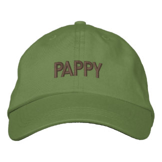 PAPPY EMBROIDERED BASEBALL HAT