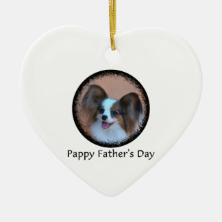Pappy Father's Day Ceramic Ornament