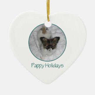 Pappy Holidays (3) Ceramic Ornament