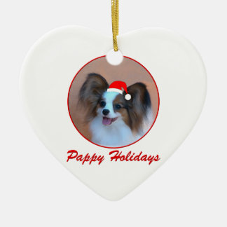 Pappy Holidays (4) Ceramic Ornament