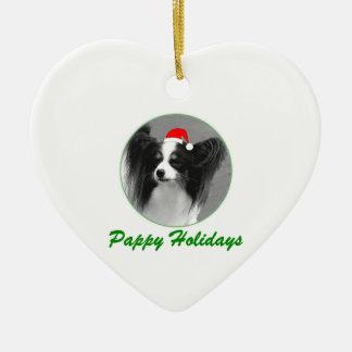 Pappy Holidays Ceramic Ornament