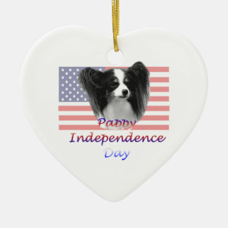 Pappy Independence Day Ceramic Ornament