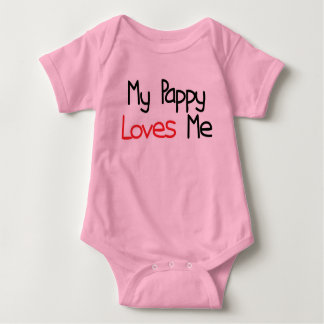 Pappy Loves Me Baby Bodysuit