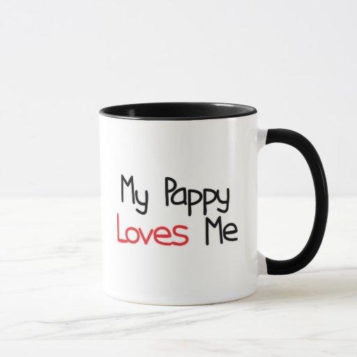 Pappy me ama taza