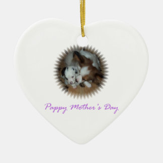 Pappy Mother's Day Ceramic Ornament