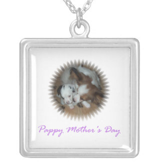 Pappy Mother's Day Silver Plated Necklace
