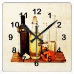 Paprika, Ajo y aceites de cocina Reloj