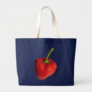 Paprika Large Tote Bag