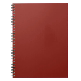 PAPRIKA (solid deep red color) ~ Spiral Note Book