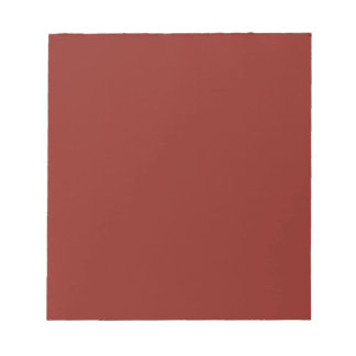 PAPRIKA (solid deep red color) ~ Memo Notepads