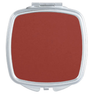 PAPRIKA (solid deep red color) ~ Makeup Mirrors