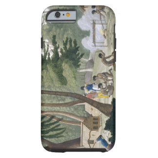Papu tribe on the Isle of Rawak, plate 20 from 'Le Tough iPhone 6 Case
