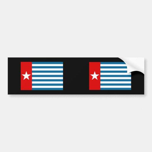 Papua del oeste, Indonesia Pegatina Para Auto