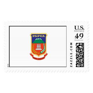 PAPUA FLAG POSTAGE