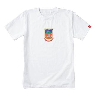 PAPUA FLAG ZAZZLE HEART T-Shirt