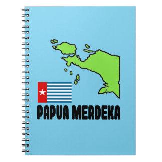 Papua Merdeka Spiral Notebook