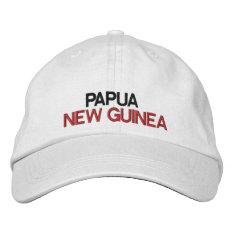 Papua New Guinea* Adjustable Hat at Zazzle
