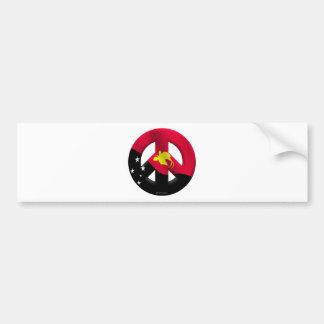 Papua New Guinea Car Bumper Sticker
