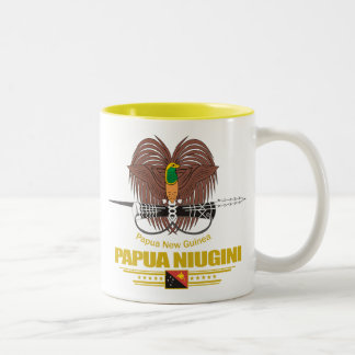 Papua New Guinea COA Two-Tone Coffee Mug