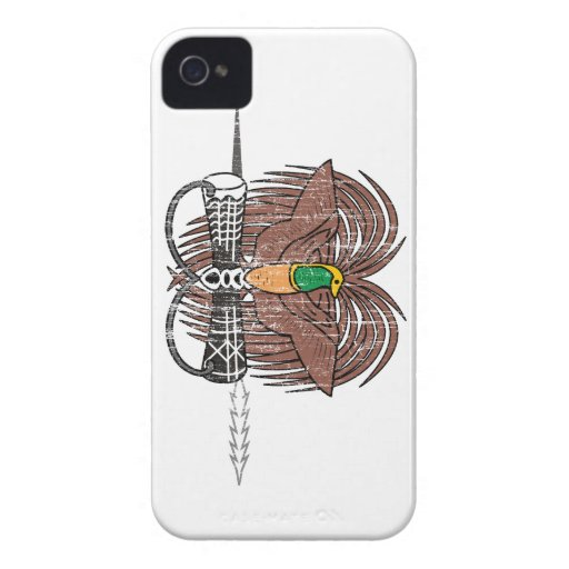 Papua New Guinea Coat Of Arms iPhone 4 Cases