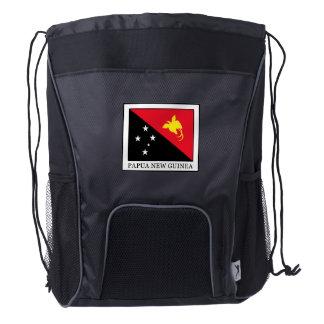 Papua New Guinea Drawstring Backpack