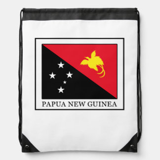 Papua New Guinea Drawstring Bag