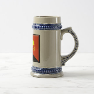 Papua New Guinea Flag Beer Stein