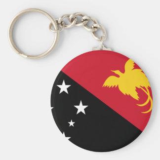 Papua New Guinea Flag Keychain